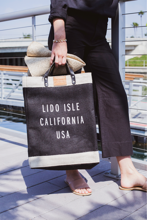 Load image into Gallery viewer, Apolis Lido Isle Market Bag