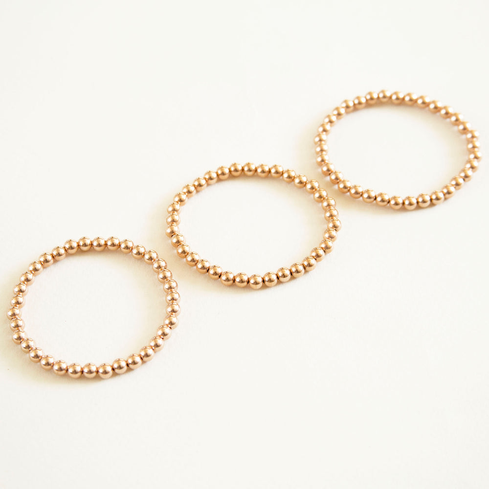 Karen Lazar Large Beaded Bracelets (3-pack)