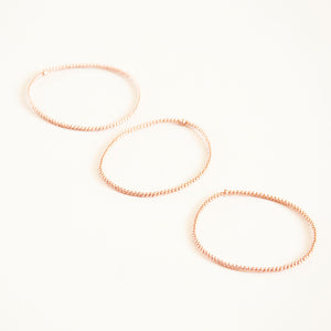 Karen Lazar Small Beaded Bracelets (3-pack)