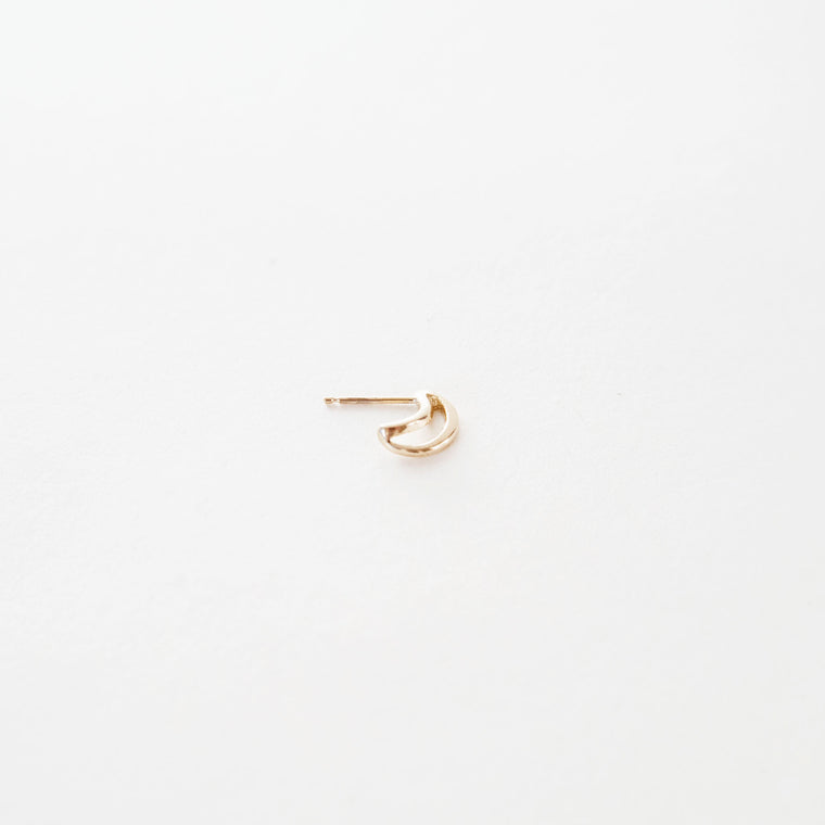 Odette Gemini Hoop Earring (Single)