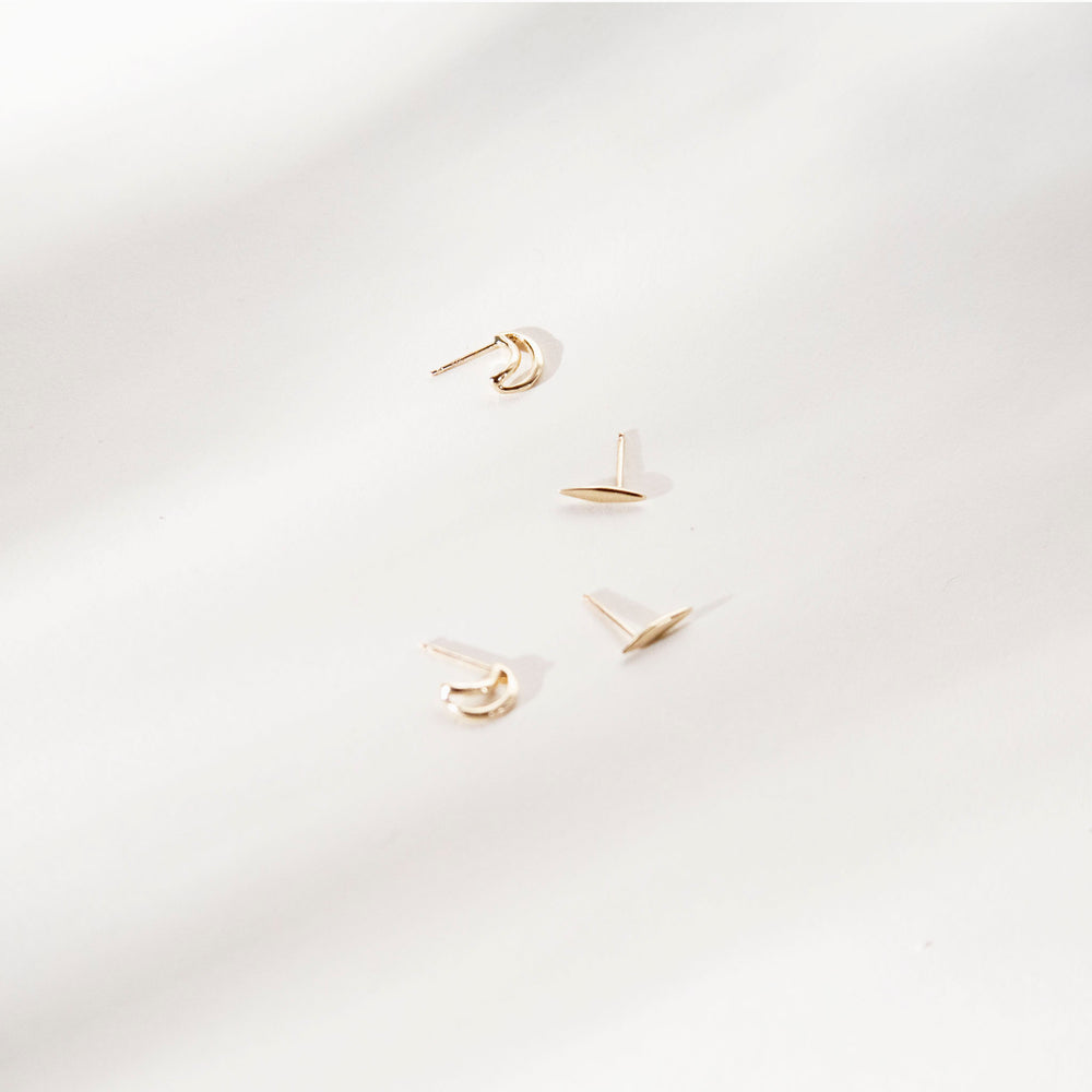 Odette Mini Ligne Earring (Single)