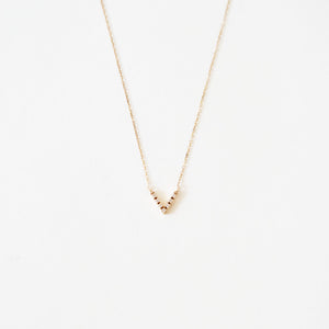 Vendome Diamond V Necklace