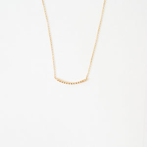 Vendome Diamond Arc Necklace