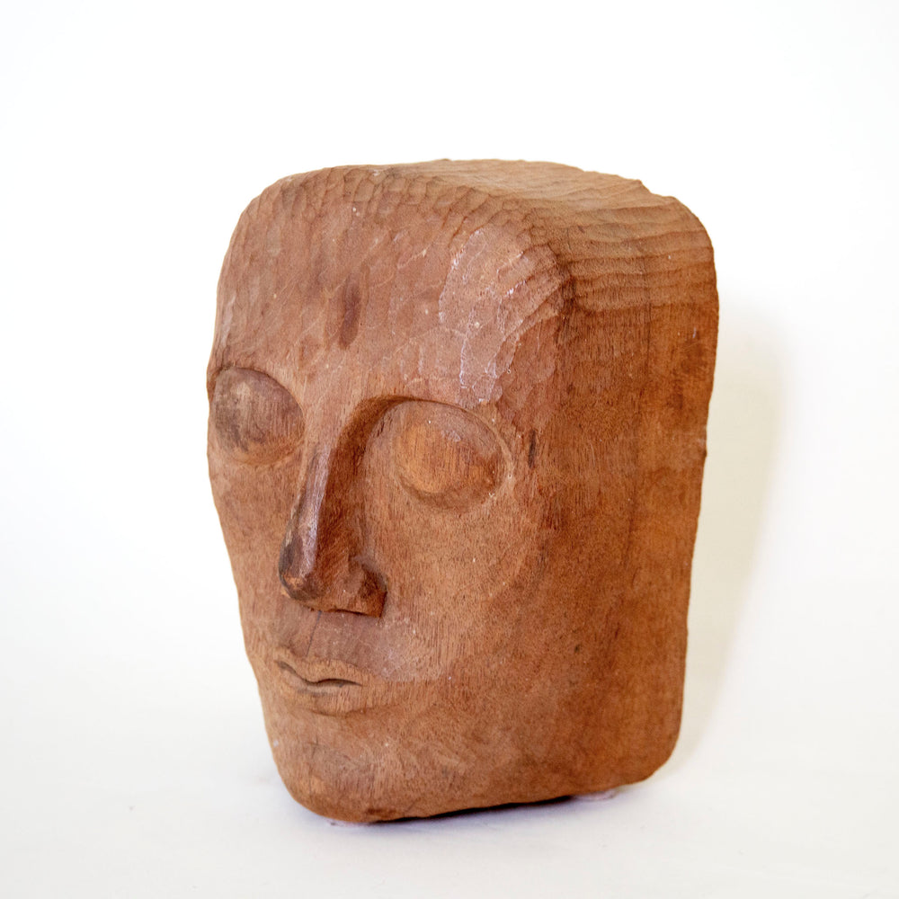 Load image into Gallery viewer, Vintage Face Sculpture
