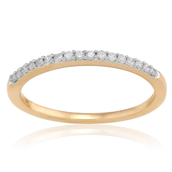Adina Reyter Pave Band Ring - Yellow Gold