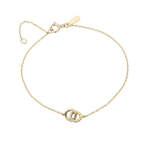 Adina Reyter Pavé Interlocking Loop Bracelet