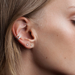 Adina Reyter Double Wide Pavé Ear Cuff