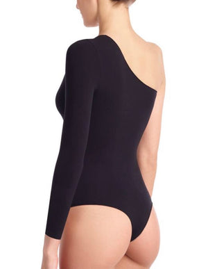 Commando One Shoulder Ballet Bodysuit