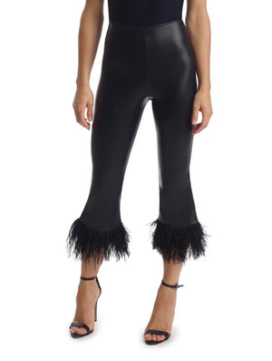 Commando Faux Leather Feather Legging