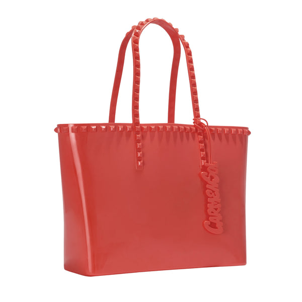 Carmen Sol Seba Medium Tote - Red