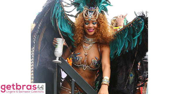 Get into the Festival spirit like the Carnival Queen Rihanna