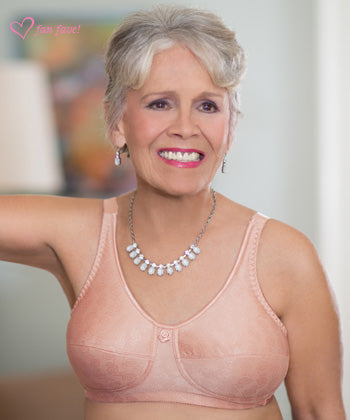 American Breast Care Rose Contour Mastectomy Bra, Rose