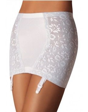 New Playtex 18 Hour Shapewear Open Girdle Shaping Panties 2697 White