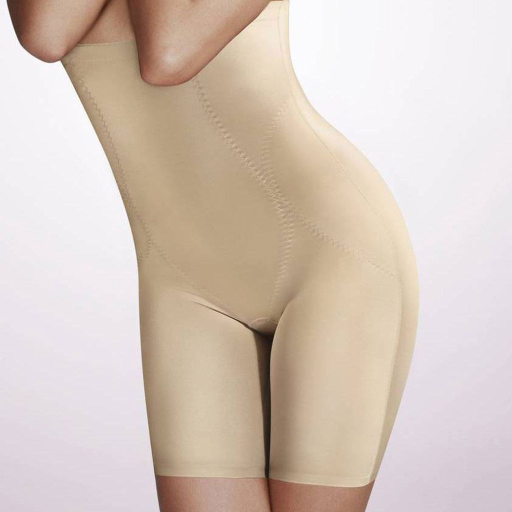 Playtex Pure Control High Waist Long Leg, Nude