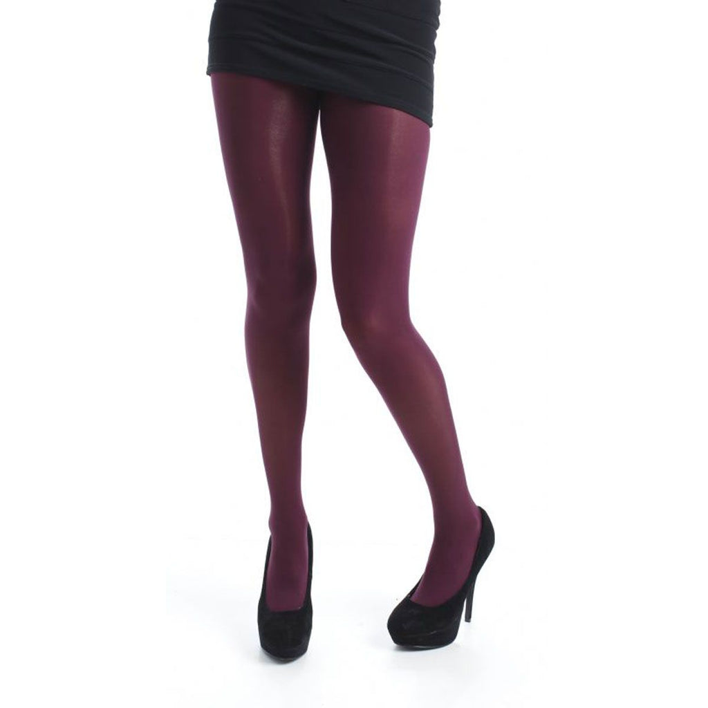 Pamela Mann 50 Denier 3D Tights, Damson