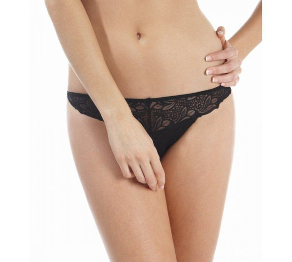 Panache Melody Thong, Black