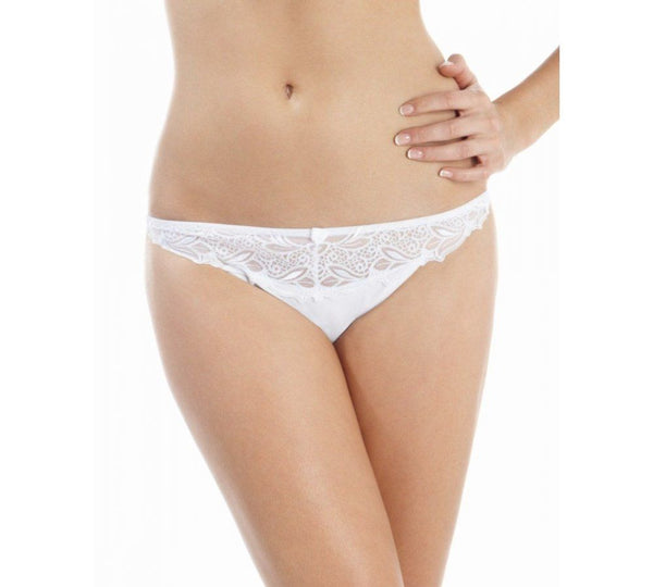 Panache Melody Thong, White
