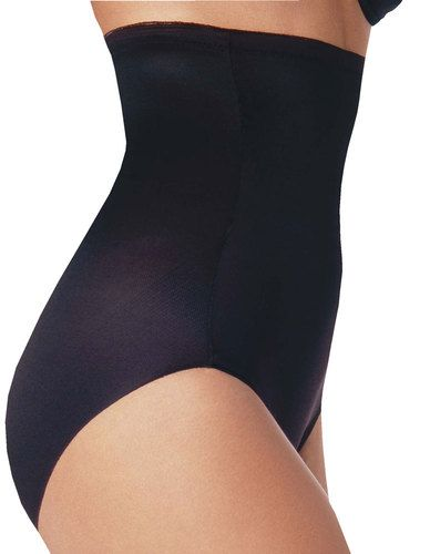 Naomi and  Nicole Hi Waist Control Panties, Black