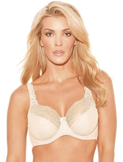 Fit Fully Yours Serena Underwire Lace Bra Collection, Soft Nude