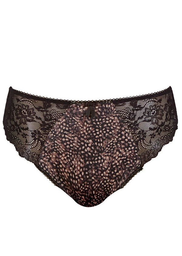 Elomi Morgan Brief Panties, Ebony