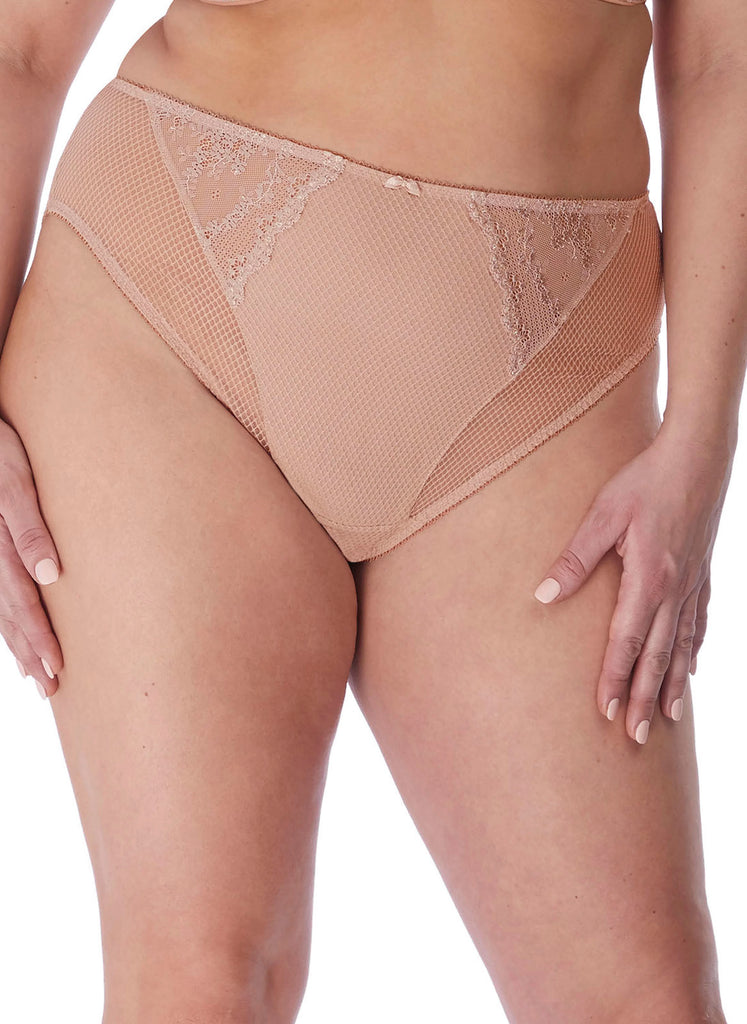 Elomi Charley High Leg Brief, Fawn