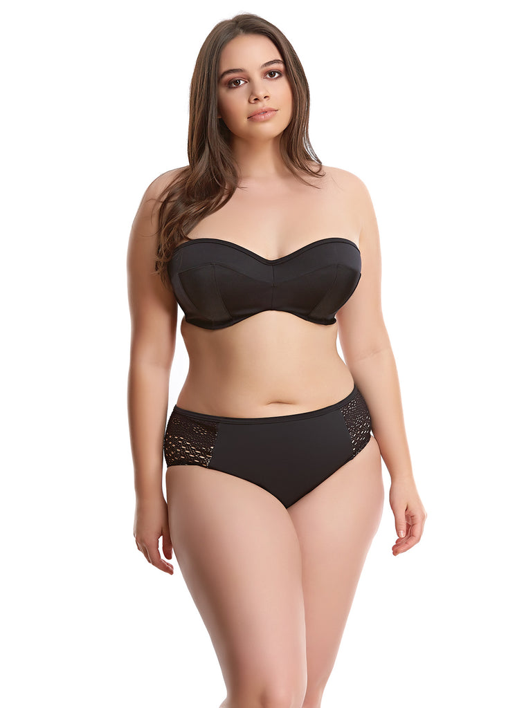 Elomi Essentials Bandeau Bikini Black ES7532