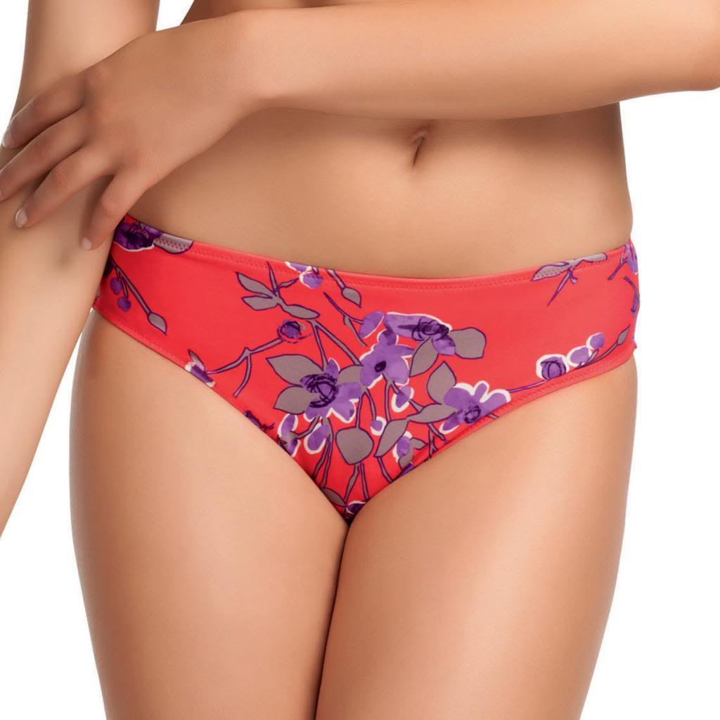 Fantasie Kyoto Mid Rise Bikini Swim Brief, Lotus Blossom