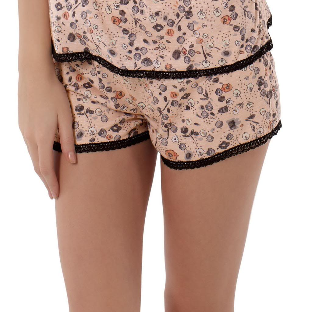 Freya Piper Lounge Wear Boyshort, Passion Fruit