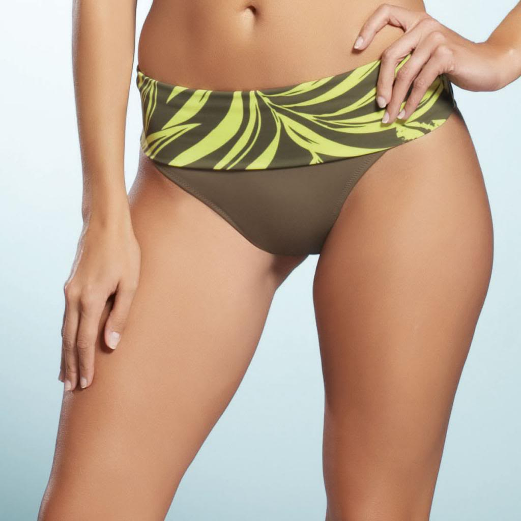 Fantasie Sao Paulo Fold Swim Brief, Khaki