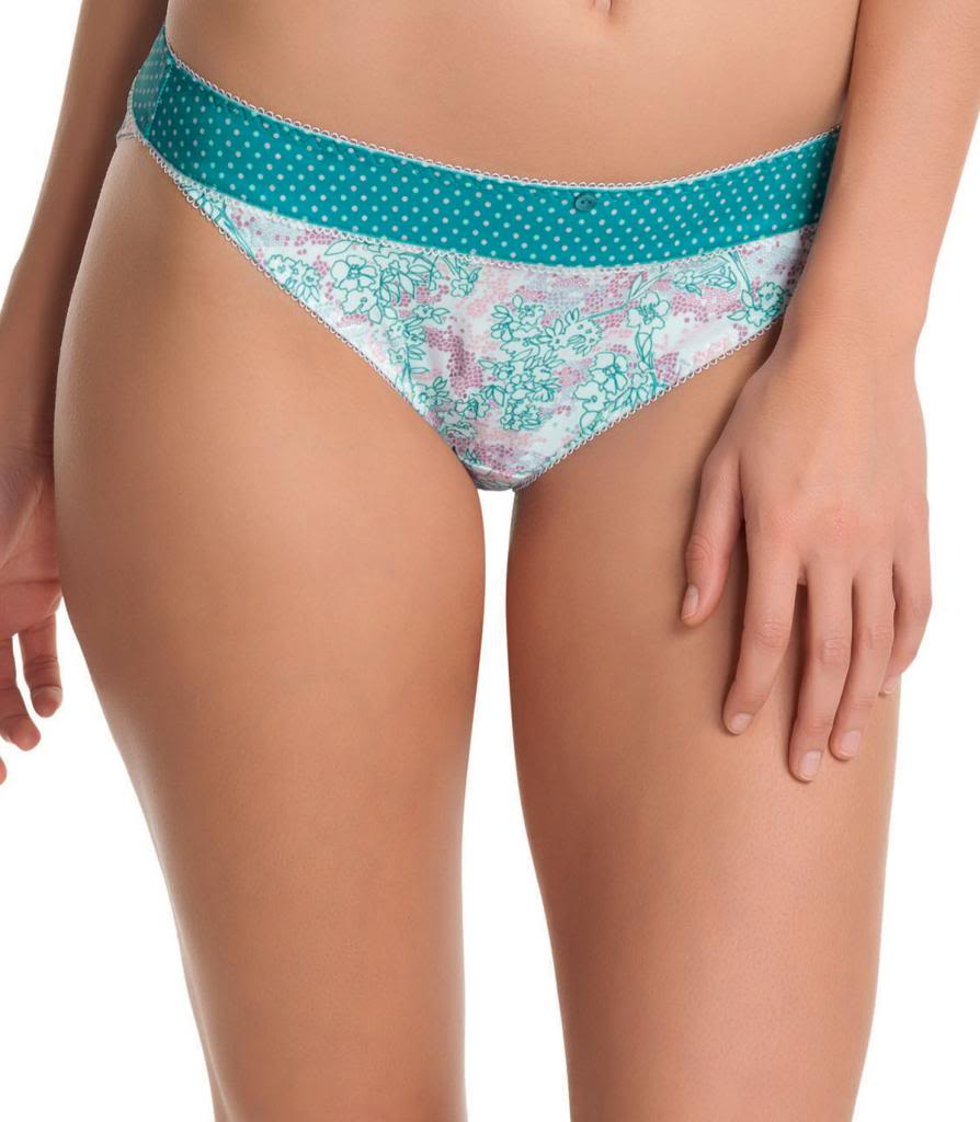 Freya Secret Garden Panties, Breeze