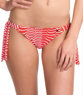 Freya St Louis Rio Scarf Tie Swim Brief, Lipstick