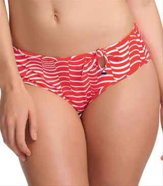 Freya St Louis 50s Low Leg Swim Brief, Lipstick
