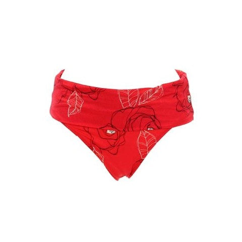 Fantasie Venice Gathered Fold Swim Brief, Grenadine