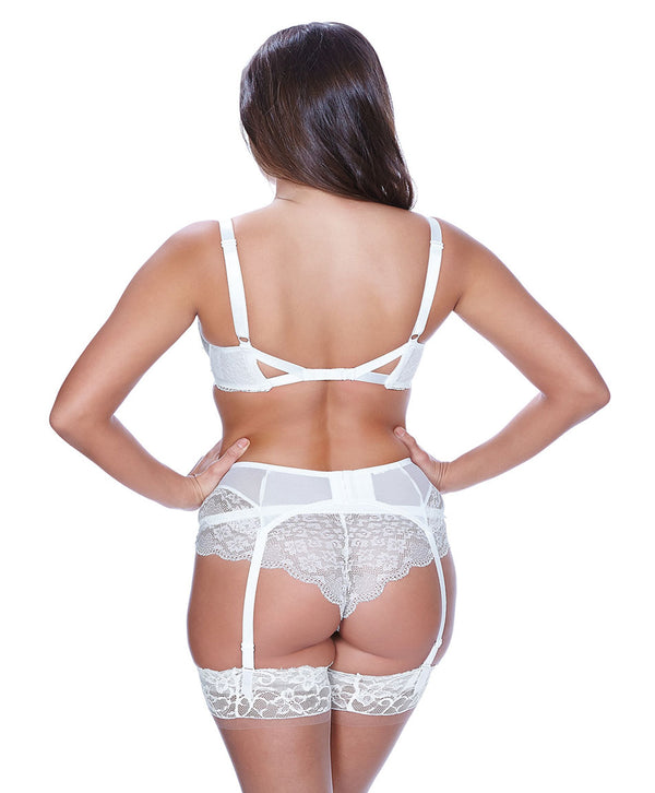 Freya Fancies Suspender Garter Belt, White
