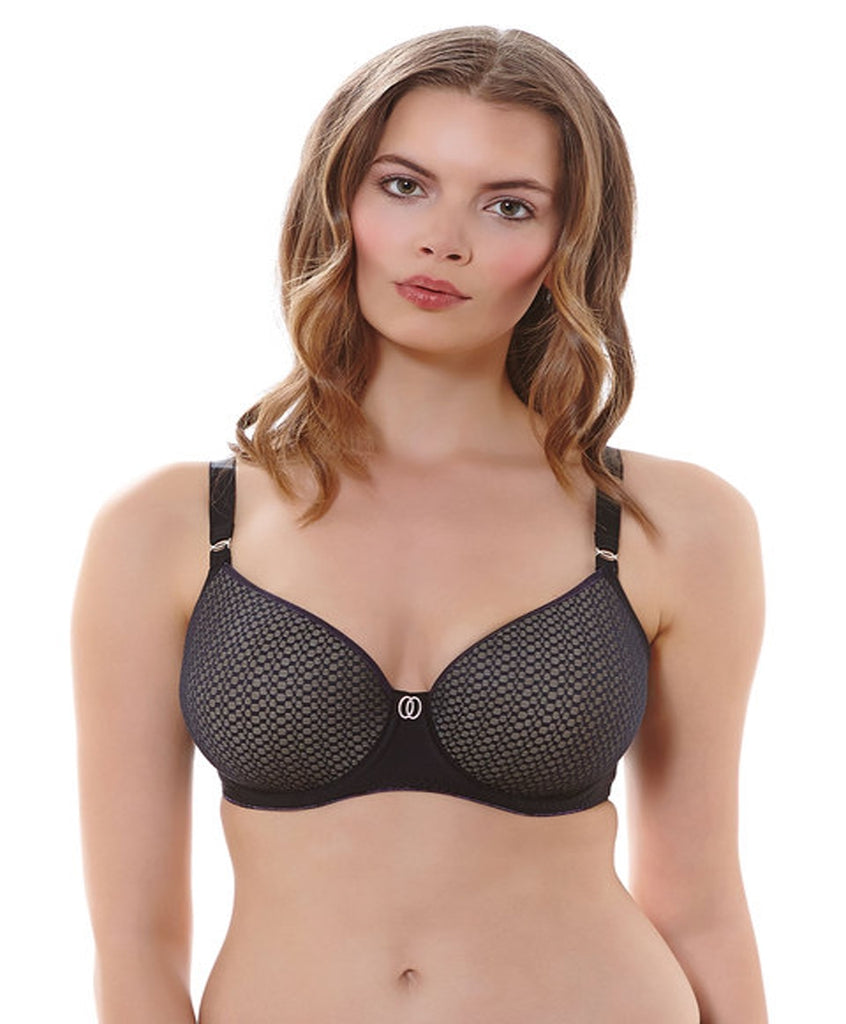Freya Muse Underwire Spacer Moulded Bra, Black