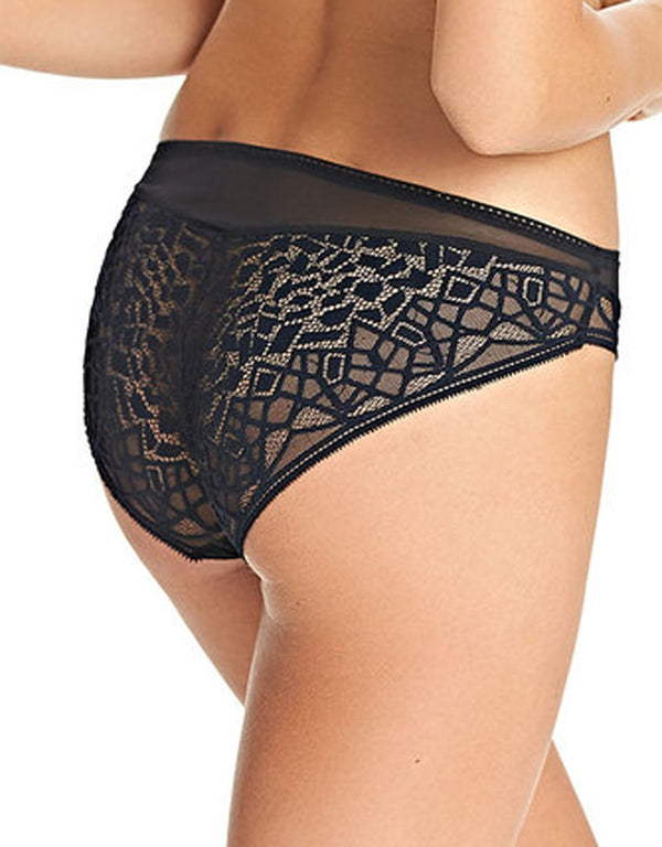 Freya Soiree Lace Brief Panty, Black