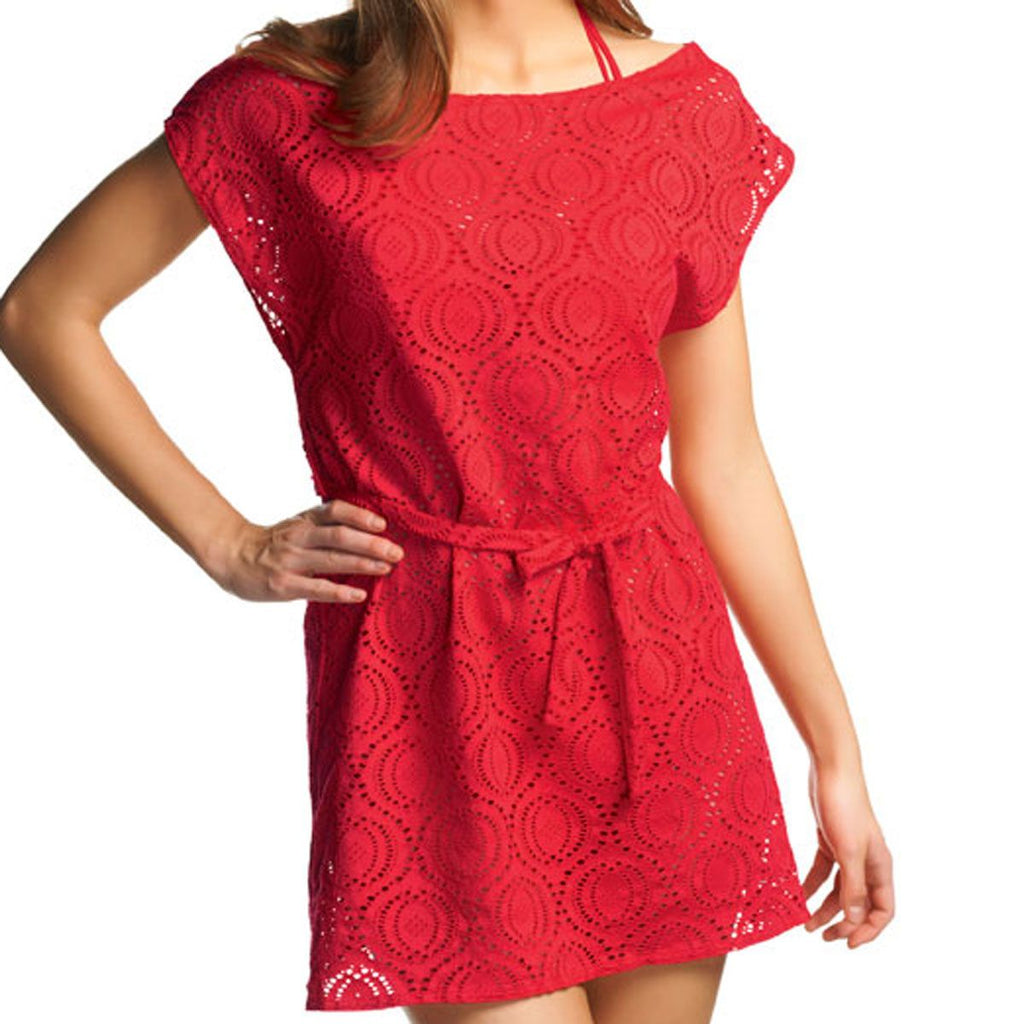 Freya Cha Cha Tunic, Red