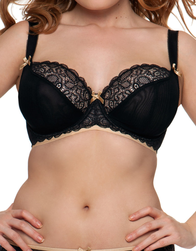 Curvy Kate Ellace U/W Balcony Bra, Black