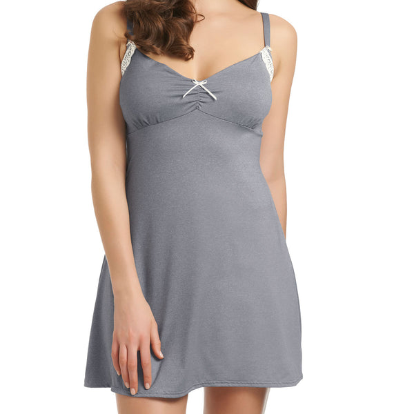 Freya Deco Delight Chemise Cup Size E-G, Dove