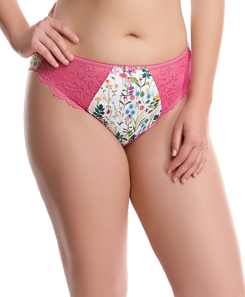 Elomi Maya Brief Panties, Sweet Pea