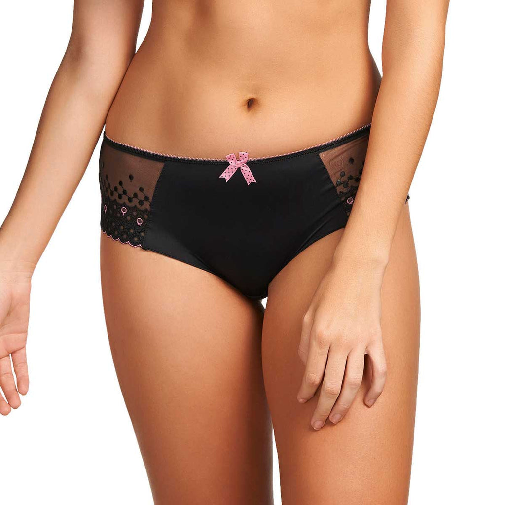 Freya Enchanted Boyshort, Black