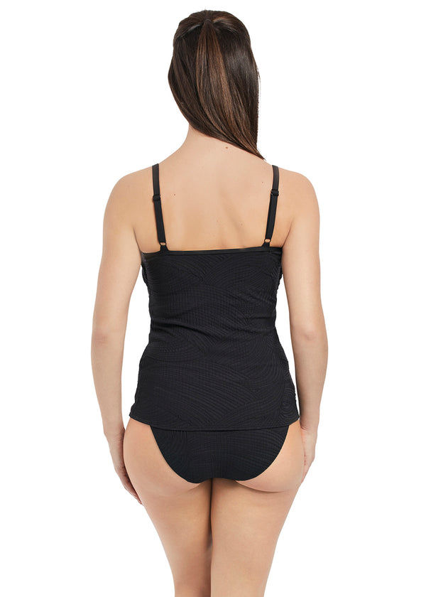 Fantasie Ottawa Underwire Scoop Neck Tankini, Black