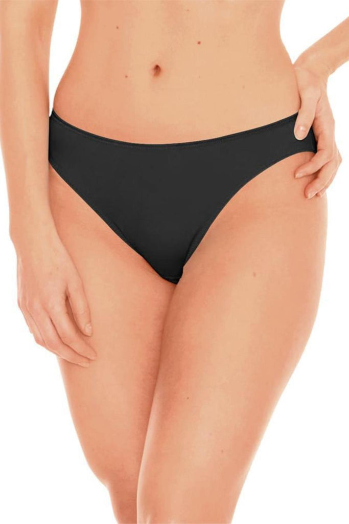 Fit Fully Yours Crystal Thong Black