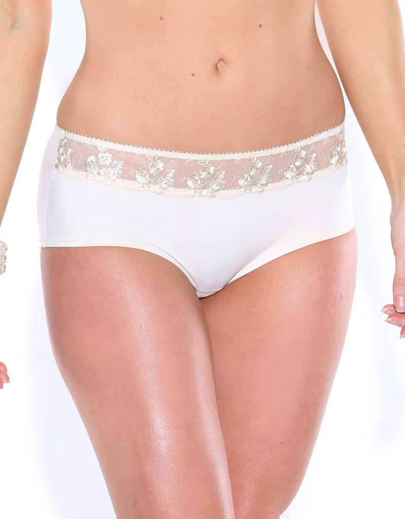 Fit Fully Yours Gloria Boy Short Panty Pearl