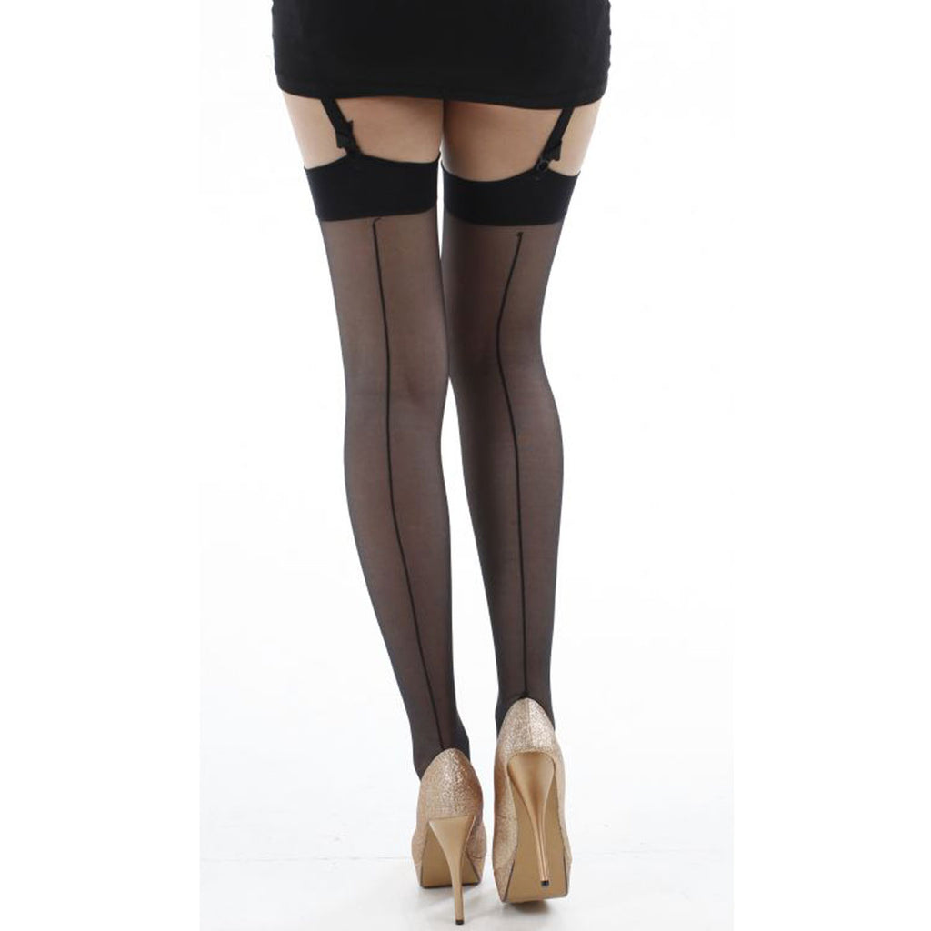 Pamela Mann Jive Stockings, Black