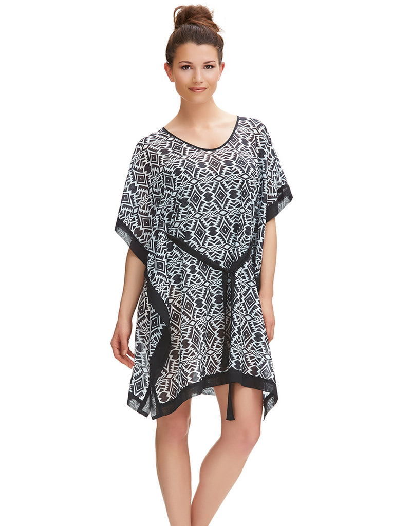 Fantasie Beqa Kaftan, Black Cream