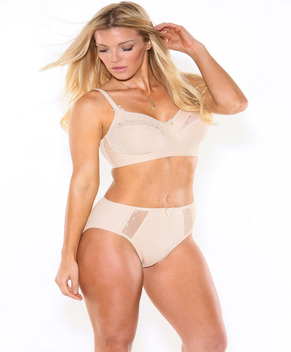 Fit Fully Yours Kristina Soft Cup Bra, Champagne