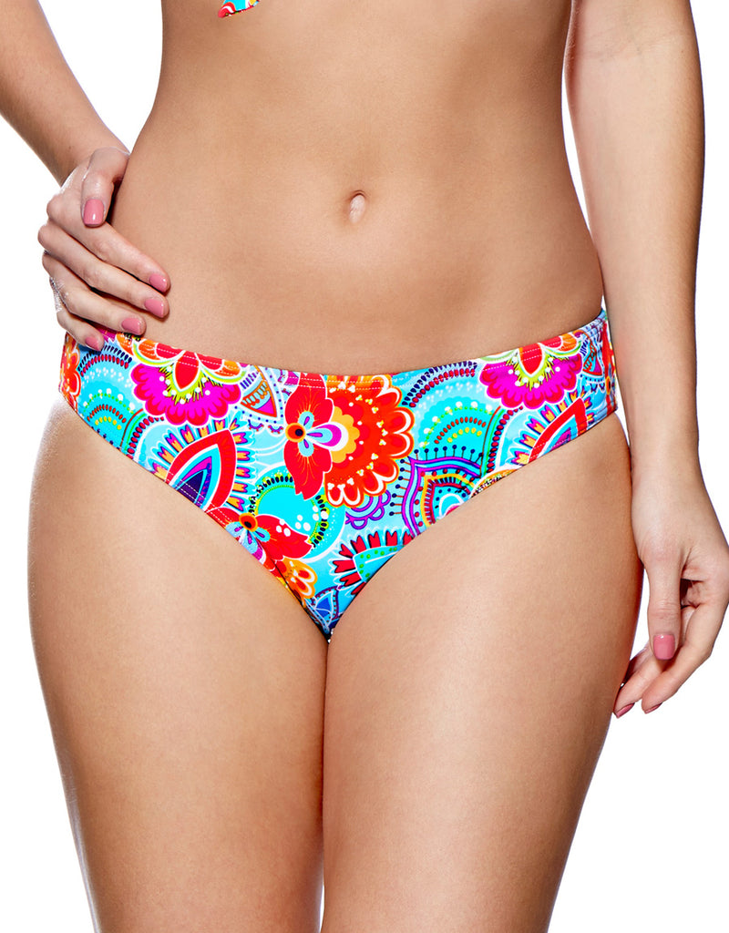 Lepel Fiesta Bikini Swim Bottom, Red