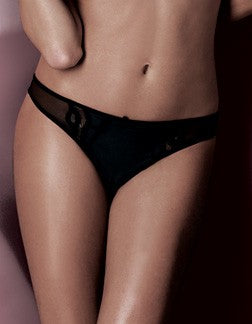 Lovable Lingerie Code Brazilian Panties, Black