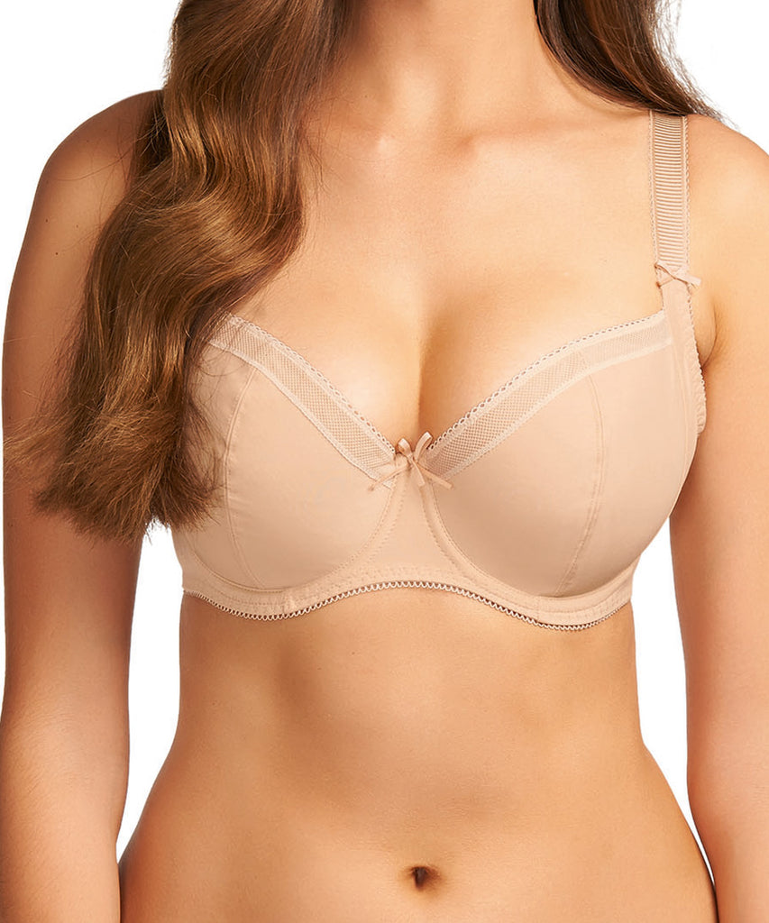 Freya Marvel Underwire Side Panel Bra, Nude